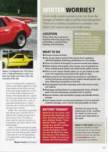 A picture of page 59 of our canada magazine (Oct / Nov 2007) where we are featured.