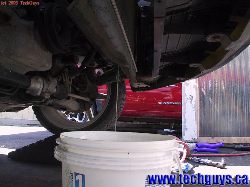 Engine Coolant on 1998 Buick Park Avenue