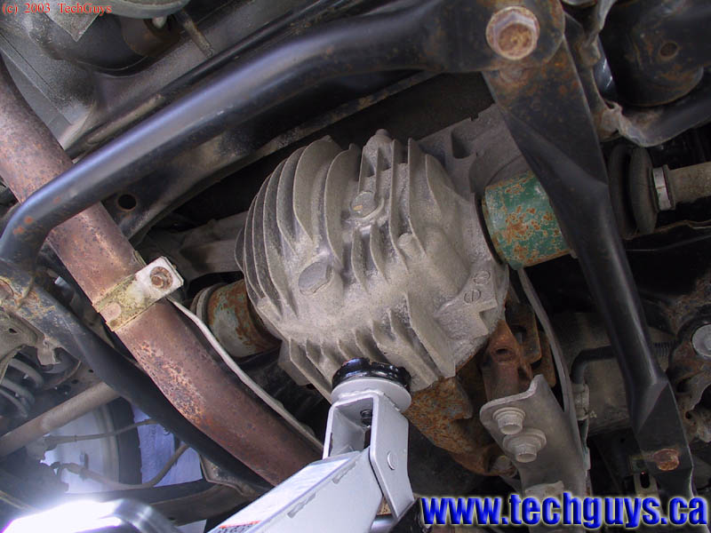 Jacking Up The Rear Of A Front Wheel Drive Car