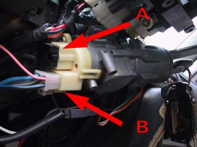 Ignition Wires on 1998 F150 Ignition Switch Replacement